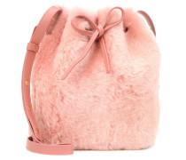 Bucket-Bag Mini aus Shearling