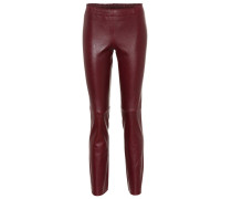 Leggings Jacky aus Leder