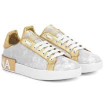 Sneakers Portofino aus Lackleder