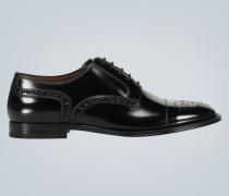 Derby-Schuhe Marsala