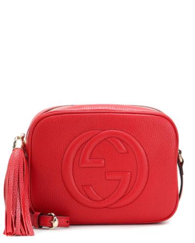Gucci Damen Schultertasche Soho Disco aus Leder Professionelle Günstig Online Billige Amazon edf2nbZV