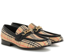 Karierte Loafers The Link