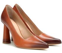 Pumps Les Chaussures Leon aus Leder