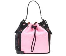 Bucket-Bag Kombo mit Leder