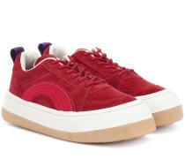 Sneakers Sonic aus Veloursleder