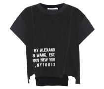 Distressed T-Shirt aus einem Baumwollgemisch