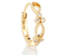 Einzelner Ohrring Tiny Hoop Volupté aus 18kt Gold