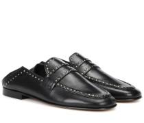 Loafers Fezzy aus Leder