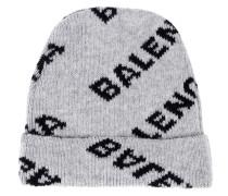 Mütze aus Stretch-Wolle