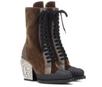 Ankle Boots Rylee Baroque Medium aus Samt