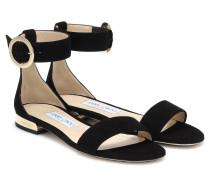Sandalen Jamie aus Veloursleder