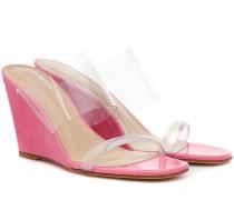 Sandalen Olympia aus Lackleder