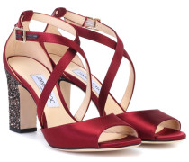 Sandalen Carrie 85 aus Satin