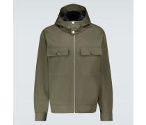 Jacke aus Baumwolle mit Kapuze