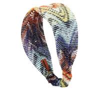 Haarband mit Metallic-Garnen
