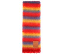 Schal aus Mohair und Wolle