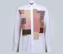 Regular-Fit Patchworkhemd