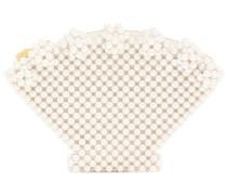 Clutch Shell Small mit Zierperlen