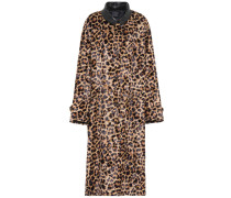 Mantel aus Faux Fur