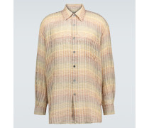 Gemustertes Hemd Striped Borrowed