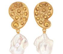 Clip-Ohrringe mit Barockperlen