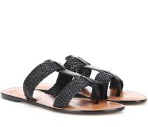 Flip-Flops aus Leder