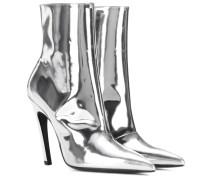 Ankle Boots Slash Heel aus Leder
