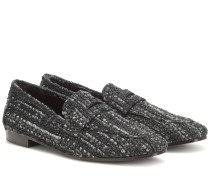 Loafers Flaneur aus Tweed