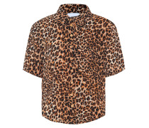 Top Clare mit Leopardenmuster