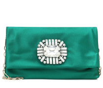 Clutch Titania aus Satin