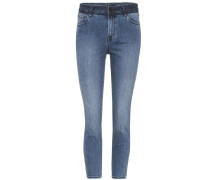 High Rise Crop Jeans Ruby