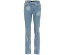 Jeans Droit aus Baumwolle