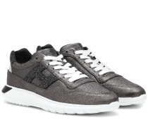 Sneakers Interactive³ aus Leder