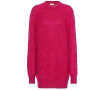 Oversize-Pullover aus Wolle und Mohair