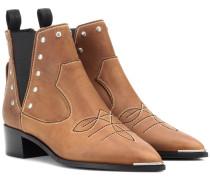Ankle Boots Jexy aus Leder