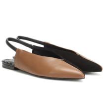 Slippers Evetta aus Leder
