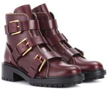 Boots Ambra aus Leder