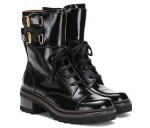 Ankle Boots Mallory aus Lackleder