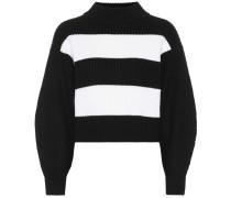 Oversize-Pullover aus Merinowolle