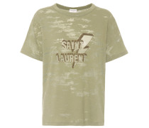 T-Shirt aus Baumwollgemisch