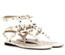 Garavani Sandalen Rockstud aus Leder
