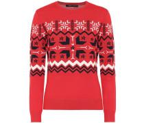 Pullover Nordic aus Merinowolle