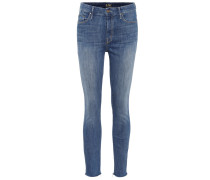 Cropped Jeans HW Looker Ankle Fray