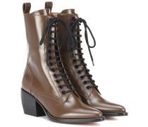 Stiefel Rylee aus Leder