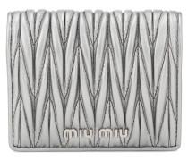 Portemonnaie aus Matelassé-Leder