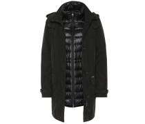 Mantel mit Daunen
