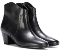Ankle Boots Dicker aus Kalbsleder