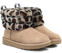 Ankle Boots Fluff Mini