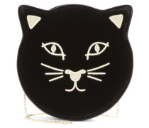 Clutch Pussycat aus Samt