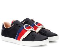 Sneakers Ace aus Satin